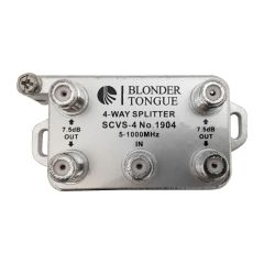 Blonder Tongue SCVS-4 4-Way Splitter