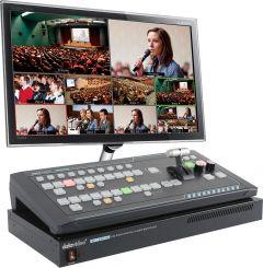 DataVideo SEB-1200 SE-1200MU 6 Input Switcher + RMC-260...