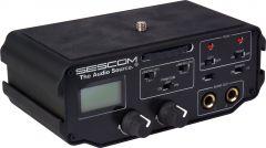 Sescom SES-BMCC-MIX1 2-Channel XLR Audio Mixer with Level Meter Peak Controls & Phantom Power for Blackmagic Cinema Came