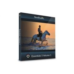 NewBlueFX SKUESS51 NewBlue Essentials 5 Vol. 1