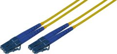 Camplex SMD9-LC-LC-100 100-Meter 9u/125u Fiber Optic Patch Cable Singlemode Duplex LC to LC - Yellow