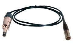 TecNec SPS-TA3M-75 Premium Quality 1/4 TRS Male to XLR Mini Male...