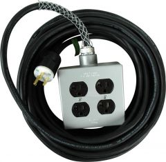 TecNec SSPC-25/PL Stage Systems Power Cable w/light - 15 Amp...