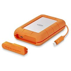 LaCie STFS5000800 Rugged 5TB Thunderbolt USB-C