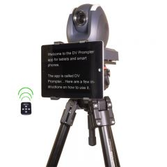 DataVideo TP-150 Teleprompter system dedicated to PTZ cameras