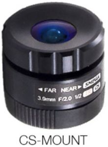 Marshall Electronics V-555.0-5MP-VIS-IR 1/2 Marshall  CS Mount Lens 5.0mm F2.0 1/2 Inch 5MP