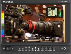 Marshall Electronics V-LCD101MD-3G Marshall  10 Inch MD Producers Monitor with HDMI and 3GSDI Modules