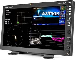 Marshall Electronics V-R173-DLW-DT Marshall  17 Inch Native HD Resolution IMD LCD Desktop Monitor with Waveform & Vectorscope Displays