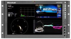 Marshall Electronics V-R173-DLW Marshall  17 Inch Native HD Resolution IMD LCD RM Monitor - Waveform & Vectorscope Displays