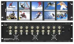 Marshall Electronics V-R35P-SDI Marshall  Ten 3.5 Inch LCD Rack Mounted Panel w/SDI Loop Thru