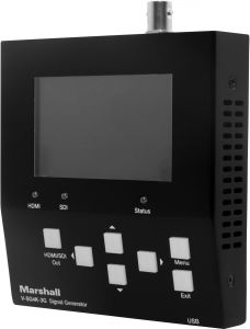 Marshall Electronics V-SG4K-3G Marshall  4K UHD and 3G HD-SDI Broadcast Test Signal Generator