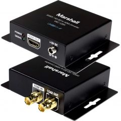 Marshall Electronics VAC-12SH Marshall  Professional 3GSDI to HDMI Converter with 3GSDI Loop Out for video capture