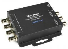 Marshall Electronics VDA-106-3GS Marshall  1x6 3G/HD/SD-SDI Reclocking Distribution Amplifier