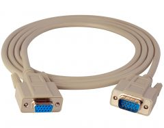 TecNec VGA-MF-100 VGA Male-Female Cable 100ft