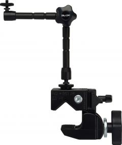 Delvcam Monitor Systems VGRIP-1 Delvcam  LCD Monitor Multi-Arm Super Clamp Mount