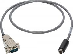 Laird Digital Cinema VISCA-9M-75 Laird  Visca Camera Control Cable 9-Pin D-Sub Male to 8-Pin DIN Male - 75 Foot