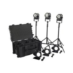 Litepanels 906-4230 Sola 4+ Daylight Fresnel 3-Light Traveler...
