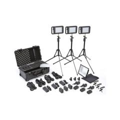 Litepanels 935-3102 Lykos Bi-Color Flight Kit w/ Battery Bundle...