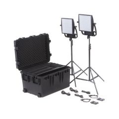 Litepanels 935-3201 Astra 6X Traveler Bi-Color Duo 2-Light Kit...