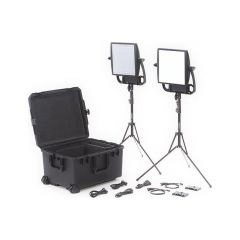 Litepanels 935-3208 Astra 6X Traveler Bi-Color Duo 2-Light Kit...