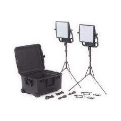 Litepanels 935-3210 Astra 3X Traveler Bi-Color Duo 2-Light Kit...