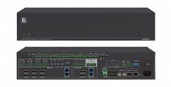 Kramer Electronics VS-84UT AllinOne Presentation System with 8x4 4K60 4:2:0 HDMI/HDBaseT 2.0 Matrix Switching, Master Room Controller, PoE & Power Amplifier