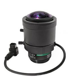 Marshall Electronics VS-M226-A Marshall BAV- 2.2-6mm F1.3 Fujinon Varifocal 3MP CS Mount with Auto-Iris - 132-50 Degrees Horizontal AOV