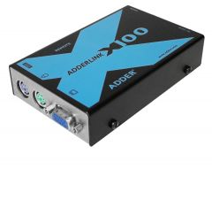 Adder X100 100m (330 ft.) PS/2 KVM extender + audio