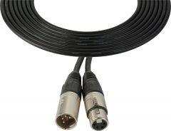 Laird Digital Cinema XLM4-XLF4-100 Laird Power Cable XLR 4-Pin Male to Female Sony KD Equivalent - 100 Foot