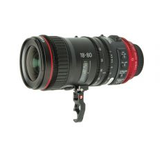 Zacuto Z-C18LS Canon 18-80 Lens Support